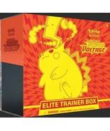 POKEMON TCG Sword and Shield Vivid Voltage ELITE TRAINER BOX NEW OFFICIA... - $61.62