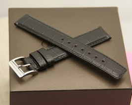 New Gucci 16 MM Genuine Leather - Croco Pattern Band for 101G - Reg  (16.101G) - $34.95