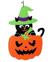 Decorative Accessories Halloween Hanging Decorations Pumpkin&Cat - $11.94