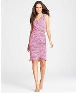 Ann Taylor Dash Print Blouson Dress, size L, NWT, $98 - $34.99