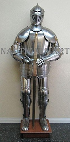 Primary image for Medieval Reenactment 16th Century Knight Full Suit Of Armor