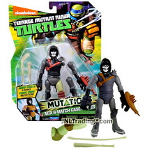 Year 2015 Teenage Mutant Ninja Turtles TMNT Mutations 5 Inch Figure CASE... - $44.99