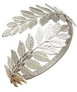 RechicGu Silver Tone Greek Roman Laurel Leaf Bracelet Armband Upper Arm... - $25.38