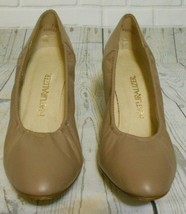 Naturalizer Womens Tan Leather  Pumps Shoes low Heel 10B US - $15.55