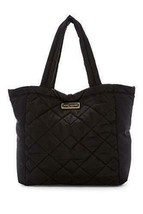 Marc Jacobs Large Quilted Nylon Tote Black - $148.49