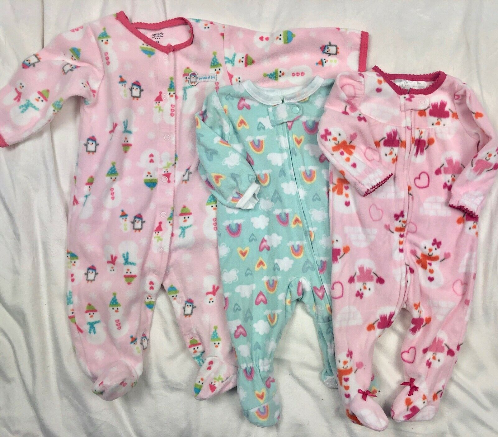 4bbbc1fe2 Carters Fleece Blanket Sleeper Pajamas Lot and 22 similar items. S l1600