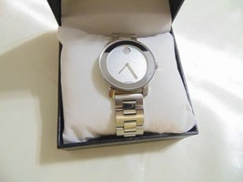 MOVADO BOLD SILVER DIAL STAINLESS STEEL LADIES WATCH 3600334 FW820 - $311.99