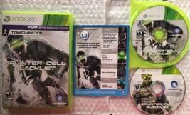 ☆ Tom Clancy's Splinter Cell Blacklist (Xbox 360 2013) COMPLETE in Case ... - $13.99
