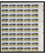 Wyoming Statehood Stamp, Sheet of 25 cent stamps, 50 stamps total - $15.00