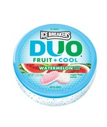 ICE BREAKERS DUO Fruit + Cool Sugar Free Mints (Watermelon, 1.3-Ounce Co... - $24.29 CAD