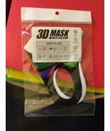 3d Face mask cover Pink cartoon joker comic teen adult Free ship same day - $9.70