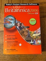Encyclopedia Britannica 2006 Deluxe CD Rom