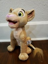 "Disney Parks Lion King 14"" Nala Cub Plush - $19.34"