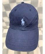 Polo Ralph Lauren Navata Blu Baseball Regolabile Adulto Cappello - $18.63