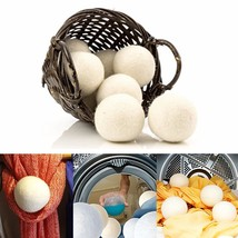 6pcs/pack Laundry Clean Ball Reusable Natural Organic Laundry Fabric Sof... - $15.57