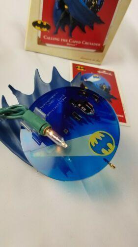 Hallmark Keepsake Ornament Calling the Caped Crusader Batman Lighting Effect  image 2
