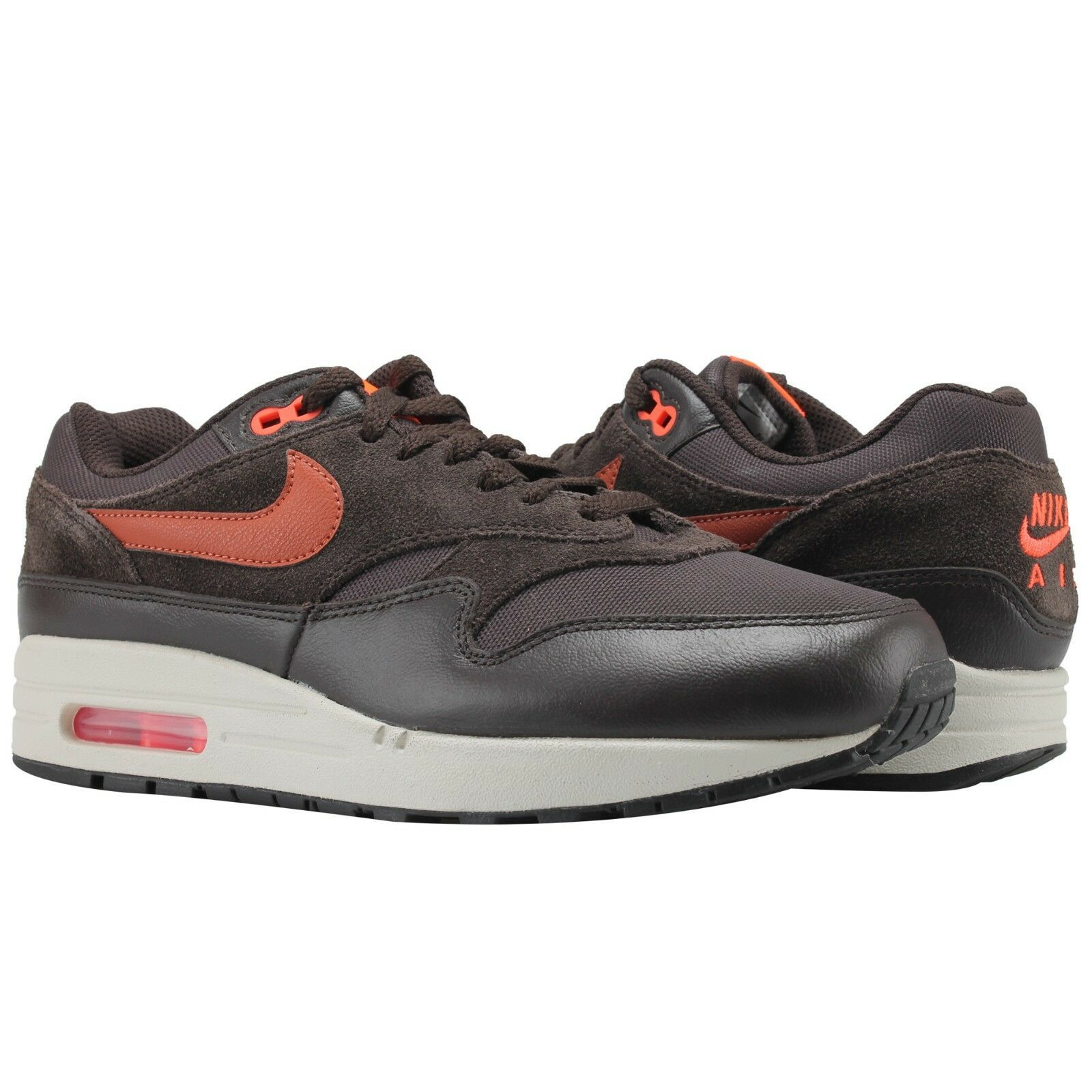 detailed look 62b79 51e21 Nike Air Max 1 Premium Velluto Marrone Color and 50 similar items