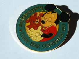 Disney Trading Pins 2354 1990 WDW 3rd Annual Teddy Bear Convention - $9.50