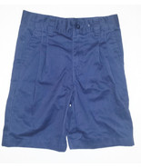 Basic Editions Boys School Uniform Shorts Navy ... - $7.69