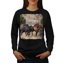 Wild Horse Freedom Animal Jumper Free World Women Sweatshirt - $18.99