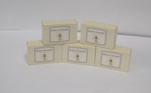 Grand California Hotel Body Cleanser Sea Kelp Oatmeal Soap 5 Bars 2.25 Ounces