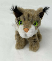 "Folkmanis Finger Puppet Plush Mini Bobcat Soft Stuffed 4"" Tall Toy - $8.90"