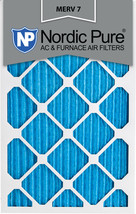Nordic Pure 14x24x1 Pleated MERV 7 Air Filters 6 Pack - $43.14