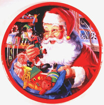 Santa's Workshop Dinner Plates - Party Supplies - $3.77