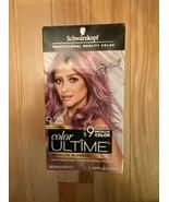 Schwarzkopf Color Ultime Metallic Blonde Brushed Berry 9.23 Permanent Ha... - $37.40