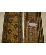 Hand spun Hand woven Sumba Hinggi Songket Ikat Pigments Nassa Shells CRA... - $123.49