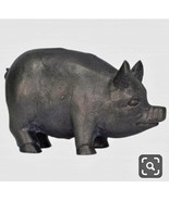 Beekman Farmhouse Weighted Pig For Doorstop or Decoration Resin Look Cas... - $34.64