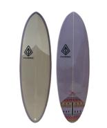 "Paragon Retro Egg 6'6"" EggPlant Surfboard - $350.00"