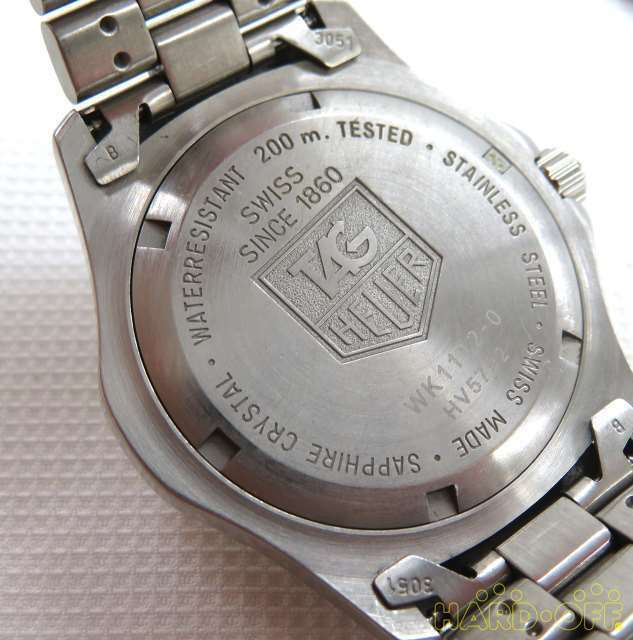 Tag Heuer Hv5792 Wk1112 0 Quartz Analog Watch image 7