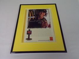 2000 McDonald's Drive Thru Framed 11x14 ORIGINAL Vintage Advertisement - $34.64