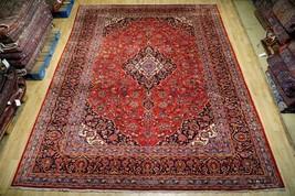 Persian Kashan Real Modish Rug Handmade 10' x 13' Fine Quality - $1,395.31