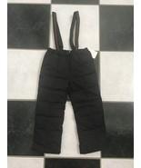 NWT 100% AUTH Gucci Baby Salopette Technical Nylon Ski Pants In Black 32... - $189.00