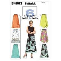 Butterick Patterns B4803 Misses'/Misses' Petite Skirt, Size FF (16-18-20-22) - $14.70