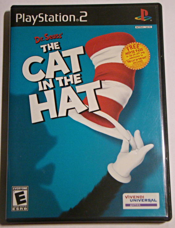 Playstation 2 - Dr. Seuss THE CAT IN THE HAT (Complete with Manual)