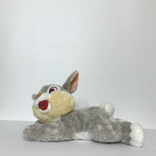 "Disney Nicotoy Thumper Bunny Rabbit Plush Stuffed Animal Beanie 11"" Laying  image 2"