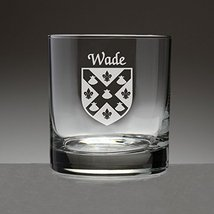Wade Irish Coat of Arms Tumbler Glasses - Set of 4 (Sand Etched) - $56.79