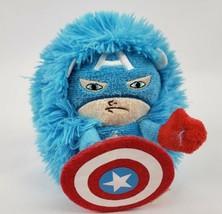 "Marvel Comics Captain America Hideaway Pets 6"" Plush Ball Foldable Super... - $10.94"