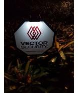 VECTOR SECURITY Yard Sign + 4 Door/Window Decals + Clip On Solar Light  ... - $32.99