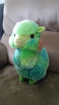 "Llama Green and Blue Brand New Plush NWT Stuffed Animal w/ Tags 11"" - $19.99"