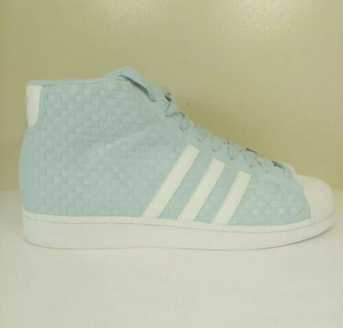 Adidas Pro Model Woven Shoes BY4169 Icey Blue/Running White- Size 11  Shell toe