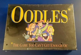 1992 OODLES Electronic Card Board Game Milton Bradley Hasbro 3+ Adult NOS Sealed - $24.74