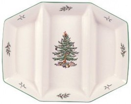 """NEW IN THE BOX  Spode Christmas Tree Triple Server 13 1/2"""" - $98.73 CAD"""