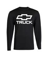 Chevy TRUCK Chevrolet Bowtie Vintage White Logo T-Shirt GM Classic Long ... - $19.99
