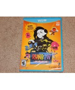 New! Runbow: Deluxe Edition Nintendo Wii U Free Shipping Action Extra DLC - $21.29