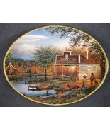 August Summertime Collector Plate Seasons To Remember Terry Redlin Bradford - $24.95