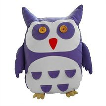 [Purple Owl, Medium] Handmade PURPLE Cute Owl Doll Canvas Doll - $35.81